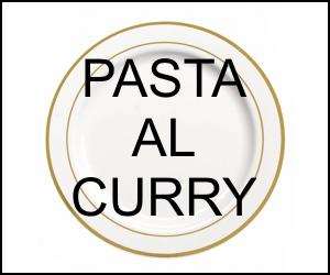 Pasta al curry